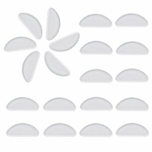 Eyeglasses Nose Pads, 10 Pair 1mm Glasses Adhesive Silicone Anti-Slip Nose Pads