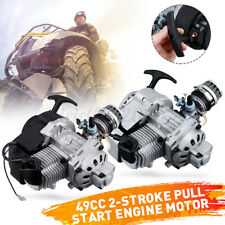 49cc 2 Stroke Pull Start Engine Motorbike Pocket Mini Quad Bike Scooter Motor UK