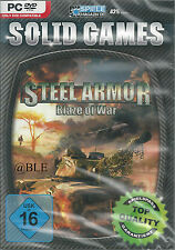 DVD-ROM + Solid Games + Steel Armor + Blaze of War + Panzer + Strategie + Win 7