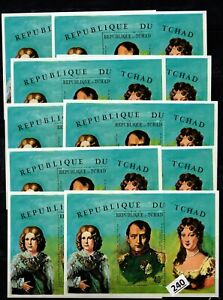 # 10X CHAD - MNH - FAMOUS PEOPLE - NAPOLEON - FRANCE
