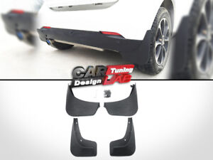 (4) Splash Guards Mud Guards Mud Flaps For 2014-2018 Smart Fortwo W453
