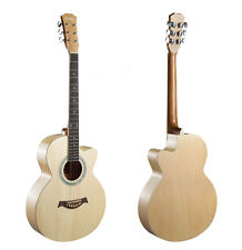 40 inch New High-Grade Basswood Musical Instruments Cutaway Acoustic Guitar #