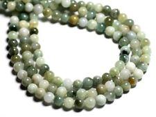 10pc - Perles de Pierre - Jade Birmanie Boules 6mm - 4558550092847