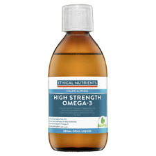 Ethical Nutrients Hi-Strength Liquid Fish Oil 280ml Mint Flavour