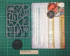 Warhammer Quest Silver Tower Dwarf Slayer Hero Fyreslayer Doomseeker M1 E