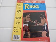 "THE RING  MAGAZINE  ""KEN NORTON COVER""  1976"