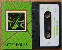 AFTERHOURS (AFT 001) 1988 UK CASSETTE TAPE FOLK CELTIC IRISH MUSIC EX COND RARE