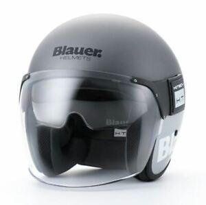 Blauer Pod Titanium / Grey Open Face Helmet RRP £249 *FREE UK DELIVERY*
