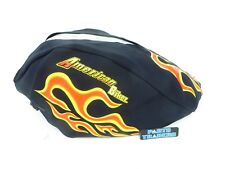 American Biker Gas Tank Cover With Flames Harley Davidson Sportster Dyna