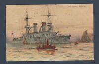 Willy Stower (1864 - 1931) / Well known German maritime artist and illustrator.