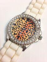 Geneva Ladies Designer Working Quartz Watch