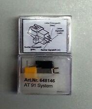NEEDLE COMPLETE AT91 for Aiwa Akai Audio-Technica Bst Dual Lenco Luxman Marantz