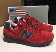 New Balance 574 US574XAD Connoisseur Red Blue glow Made in USA New Size 9 D