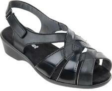 Cosyfeet Extra Roomy Eve Womens Sandals 4 Colours 5E+ Fitting UK 3 4 5 6 7