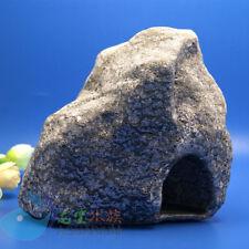 Aquarium Fish Tank Decorations Cichlid Stone Cave hide  for Angelfish shrimp XXL