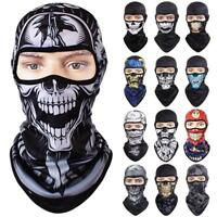 Motorcycle Cycling Full Face Mask Balaclava Ski Outdoor Thermal Windproof Winter
