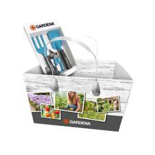 GARDENA Kleingeräte-set mit Einkaufskorb Blumengabel/-kelle Gartenschere