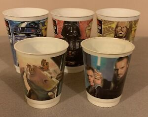 Assorted Star Wars Promotional Cups - Pizza Hut