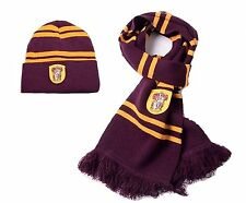 "Harry Potter Scarf and Winter Hat - Scarf 70"" Long; 100% Soft Wool (Set of 2)"
