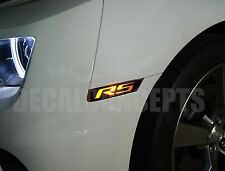 2010-2015 Camaro Front & Rear Side Marker RS Decal kit - Chevy cover sticker
