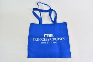 Blue Princes Cruises Come Back New Reusable Tote Bag With Handles And White Trim