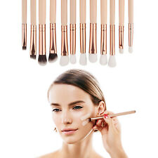 12pcs Professional Make-up Brush Set Eyeshadow Foundation High Quality Brushes
