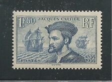FRANCE # 297 MHG CARTIER'S DISCOVERY OF CANADA