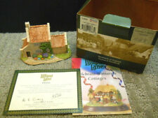 Lilliput Lane Captain Cook's Cottage #1088 Limited Ed. 2003 Nib With Deeds L2663