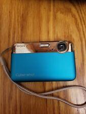 Sony Cyber-shot DSC-J10 16.1 MP Digital Camera - Blue
