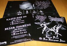 """RAPED GOD 666/BLACKTORMENT - Imperial Forces of Real Underground Attack 7""""EP"""