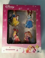 Beautiful Disney Princess Christmas Ornament Figures, Brand New