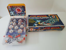Star Mission Elektro Flipper - Pinball - vintage late 70's, early 80's