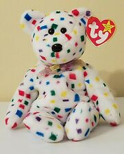 """""""Ty 2K Bear"""" Mwmt! Soft, Plush & Colorful! Check Out My Other Auctions!"""