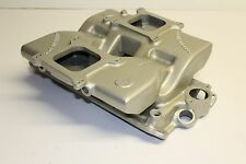 Offenhauser Small Block Chevy Cross Ram Intake Manifold Oil Fill Aluminum SBC