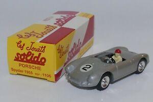 Solido Réédition 1/43 1106 - Porsche Spyder 1955
