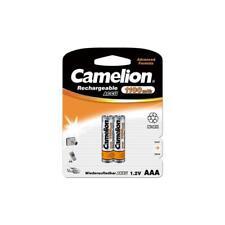2 x NiMH-Akku 1,2 Volt  1100 mAh Micro AAA HR03 wiederaufladbar von Camelion
