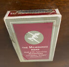 Vintage MILWAUKEE ROAD Factory Sealed Pinochle Size Pack of Playing Cards RR