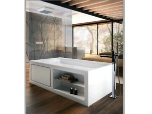 Gessi hot tub mixer Rettangolo K freestanding hot tub mixer with handshower 5...