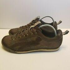Cushe Mens Size 8 Vintage Brown Sneakers UM00039 Vinyl Frontier Leather