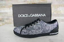 Dolce & Gabbana D&G Gr 38,5 Sneakers Schnürschuhe Schuhe shoes neu UVP 231 €