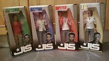 Full Set Of Official First Edition JLS Dolls. Aston, Oritse, Marvin & JB. BNIB