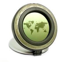 WORLD TIME Device-Doppia visualizzazione orario 24 città con sveglia e calendario