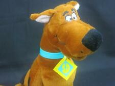 HANNA-BARBERA SCOOBY DOO GREAT DANE BROWN PUPPY DOG EMBROIDERED EYE SIT UP PLUSH