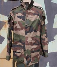 RARE FRENCH ARMY LE SF CCE WOODLAND CAMO SMOCK  T4 S 2   SIZE L R  NOT ISSUED
