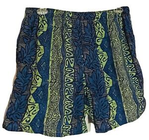 OP Men's Size XL Board Shorts Swim Suit Black Blue Green & Gray NO Mesh Lining