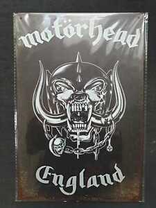 Motorhead Metal Sign Plaque English Rock posters