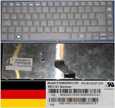 Teclado Qwertz Alemán GATEWAY NV49C NM85 NM87 90.4GZ07.S0G KB.I140G.124 Negro