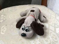 "VINTAGE TONKA GREY POUND PUPPIES BABY 6"" SOFT TOY PLUSH VGC"
