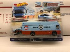 Hot Wheels Team Transport Lancia Rally 037 with Euro Hauler #26 New