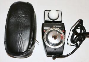 Spectra Combi II Light Meter Case Nice Working Condition